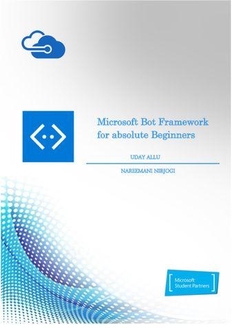Microsoft Bot Framework for absolute Beginners