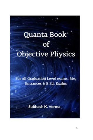 Quanta Book of Objective Physics
