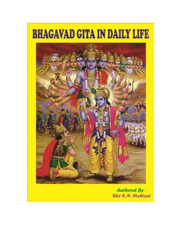 Bhagavad Gita in Daily Life