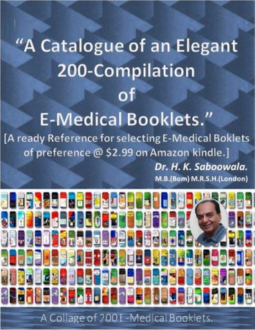 """A Catalogue of an Elegant 200-Compilation of E-Medical Booklets."""
