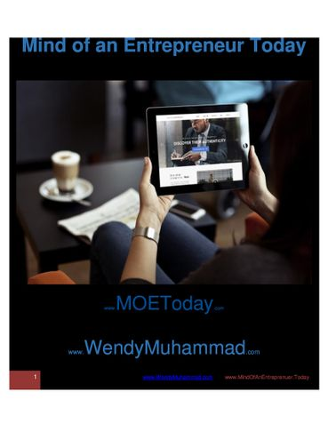 Mind of An Entrepreneur Today